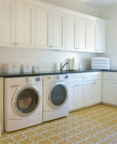 laundry room cabinets floor home pinterest