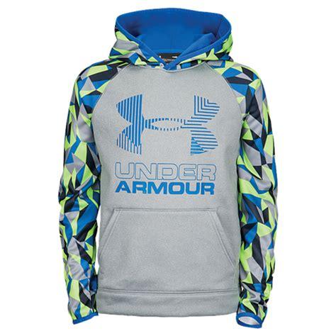 Baju Armour Fitness Light Gray List Green Premiun P02 armour armour fleece novelty big logo hoodie boys
