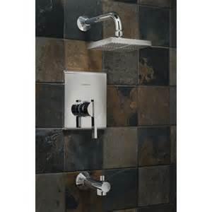 american standard chrome 1 handle tub and shower valve