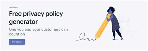 5 Websites To Generate Privacy Policy Page For Free Shopify Privacy Policy Template