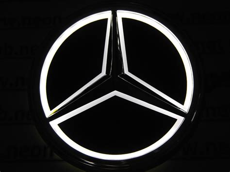 car mercedes logo 2015 mercedes car logo light for s350 s300l rear