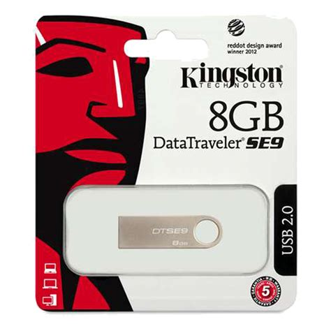 Kingston 8gb Data Traveler Usb 2 0 kingston digital datatraveler se9 16gb usb 2 0 dtse9h 16gb