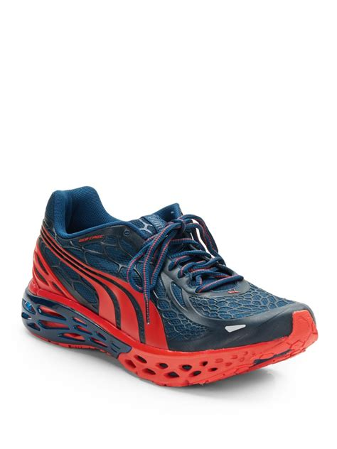 Sold Sepatu Running Bioweb Elite lyst bioweb elite running sneakers in blue for