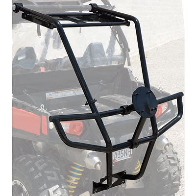 Spare Tire Cargo Rack by Tusk Rzr Rear Bumper Cargo Rack And Spare Tire Carrier