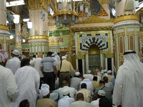 Kaos Haji Perempuan Mekkah Madinah umrah idaman ziarah dalam masjid nabawi