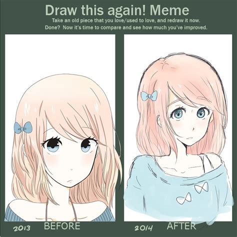 Draw This Again Meme Template - draw this again meme by pinky98231 on deviantart