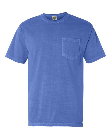 comfort colors pigment dyed sleeve shirt with a