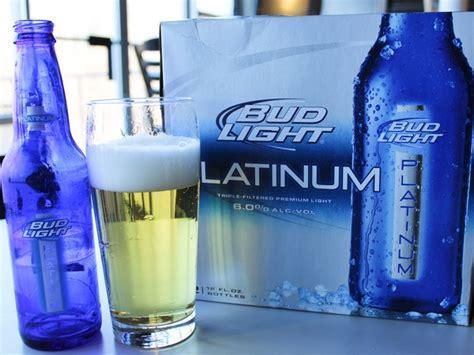 bud light platinum calories how many calories in bud light platinum
