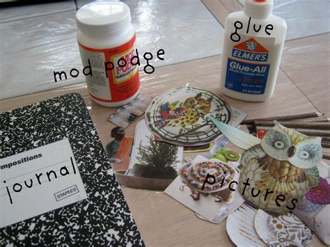 Materials For Decoupage - craft 4 decoupage y all a sloth like state