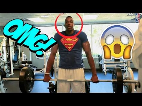 dwight howard max bench dwight howard workout doovi