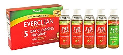 Everclean Detox Reviews by Detoxify Detox Clean Herbal Cleanse 5 Day Cleansing