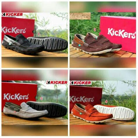 Sepatu Kickers Slop Brown Leather 50 best scrambler collection 4sr motorcycle clothing