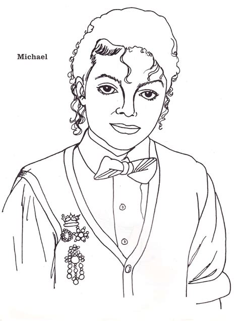 michael jackson coloring pages 1000 images about michael jackson coloring book on