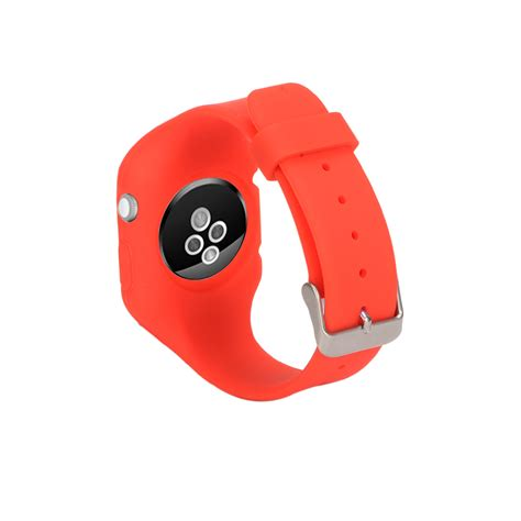 Durable Silicon Band Apple Iwatch silicone buckle wrist band bracelet belt for iwatch apple 1 2 ebay