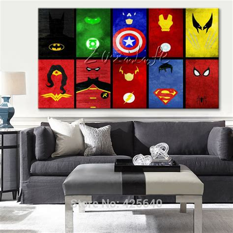 marvel home decorating marvel comics for home decor poster and print of wall