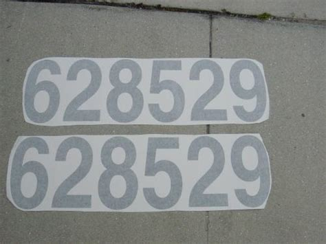 installing florida boat registration numbers custom signs of marco boat applications