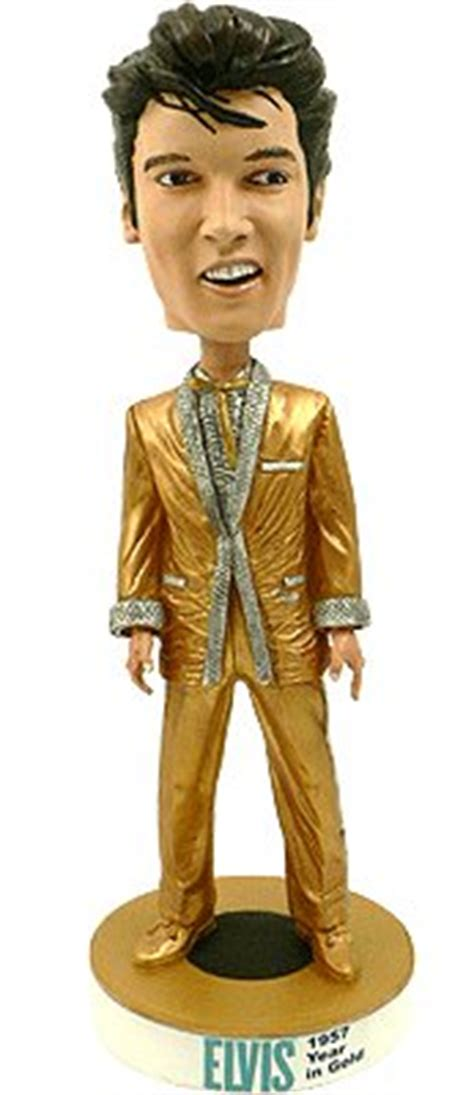 bobblehead restoration elvis bobblehead 1957 in gold
