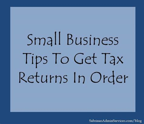 Small Home Business Tips Income Tax Season Newhairstylesformen2014