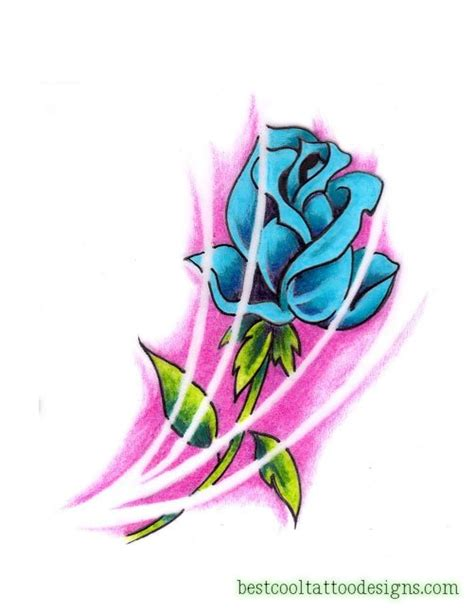 cool rose tattoos designs flash best cool designs