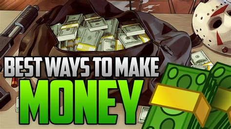 Best Way To Make Money In Gta Online - gta 5 online best ways to make money online fast easy money methods youtube