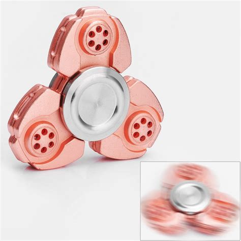 Fidget Spinner Keramik Ceramic Bearing Tri Spinner Toys 1 copper zinc alloy tri spinner fidget spinner focus edc