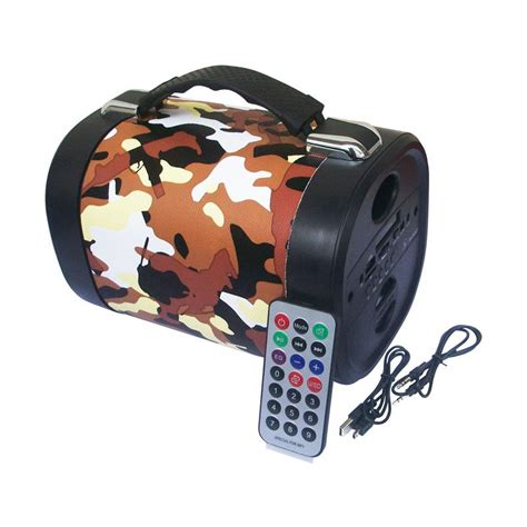 Speaker Advance Tp700 Bluetooth jual advance tp 700bt army portable bluetooth speaker coklat harga kualitas