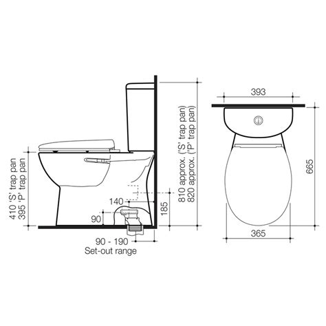 Toilet Plumbing Size by