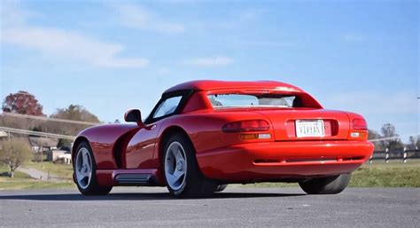 original dodge viper the original dodge viper rt 10 will always be a scary