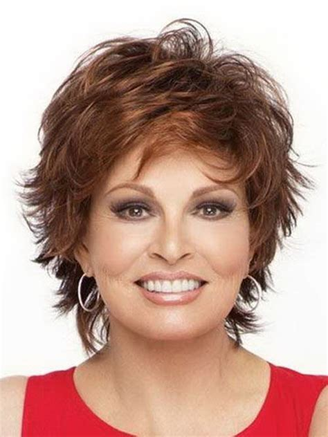 hairstyles round face middle age short hairstyles for middle aged women