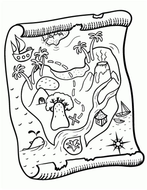 coloring page of a map 80 treasure map coloring page map coloring pages