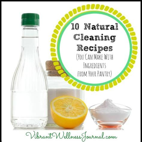 Ingredients In Pantry What Can I Make by 10 Cleaning Recipes You Can Make With Ingredients