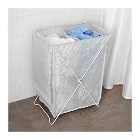 ikea torkis torkis laundry basket white grey 90 l ikea