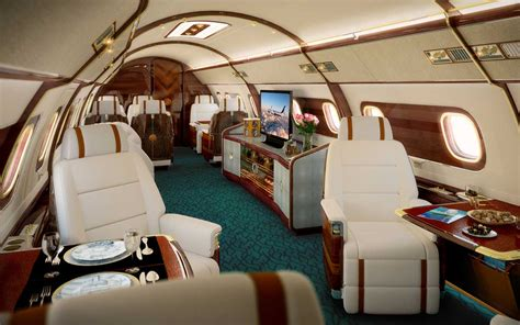 private jet interiors skyacht one takes private jets to new heights