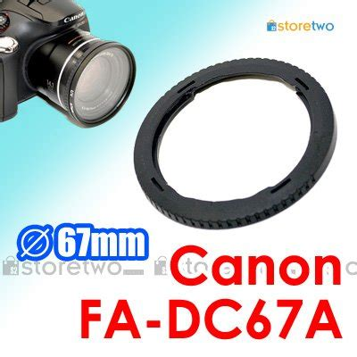 fa dc67a jjc conversion lens adapter for canon camera
