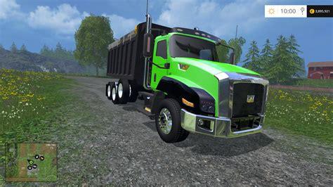 Truck Ls by Cat Dumptruck Idk Ls 15 Farming Simulator 2015 15 Mod