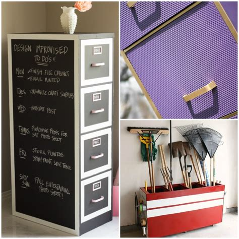 Diy File Cabinet Makeover by 15 Ways To Make An File Cabinet