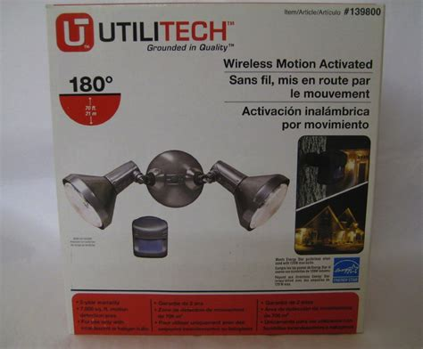 motion light with alarm www utilitech com lighting lighting ideas