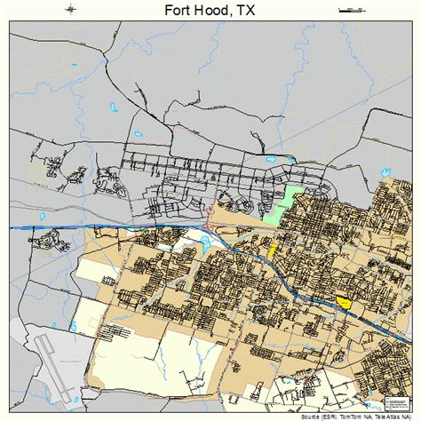 ft texas map fort images