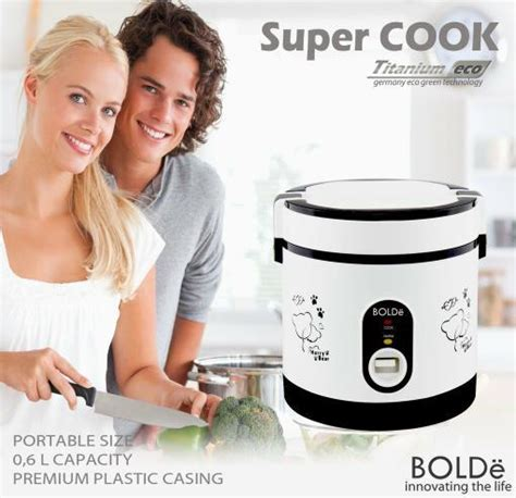 Rice Cooker Bolde cook bolde alat masak nasi murah bergaransi rice