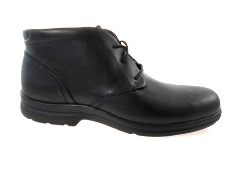 wide width boots for rockport dh chukka boot k71345 s black leather wide