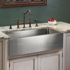 1920s sink options on stainless steel kitchen