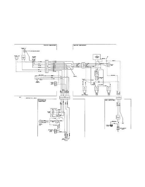 wiring diagram for frigidaire refrigerator frigidaire refrigerator wiring diagram parts model