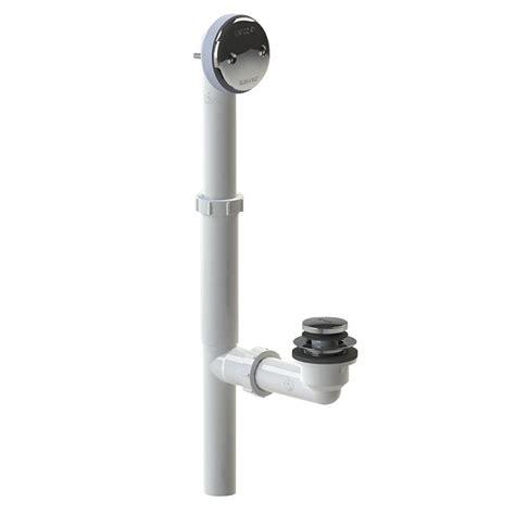 bathtub drain plug mechanism westbrass tip toe bath mechanism in chrome 79338mocp the