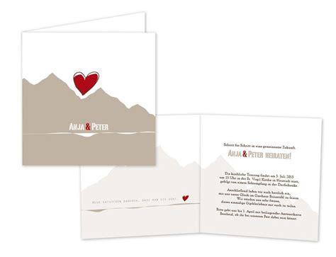 Hochzeitseinladung Berge by Designideen F 252 R Hochzeitskarten Co Archives Einladen