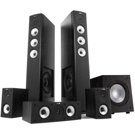 Home Theater Fidelity jamo s628hcs10 5 1 home theatre speaker system