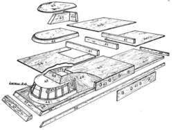 Catamaran Floor Plan Radio Controlled Power Boat Plans And Blueprints