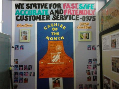 cashier reward area the home depot office photo