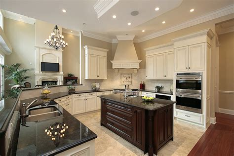 amazing Kitchen Islands Toronto #5: 09-transitional-off-white-kitchen-with-dark-island1.jpg