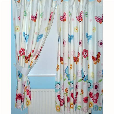 butterfly tie backs for curtains butterflies 66 quot x 72 quot lined curtains new with tie backs
