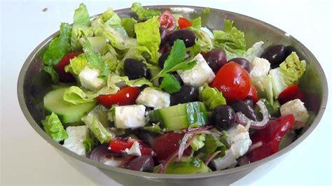greek salads greek salad easy to make recipe enjoy youtube